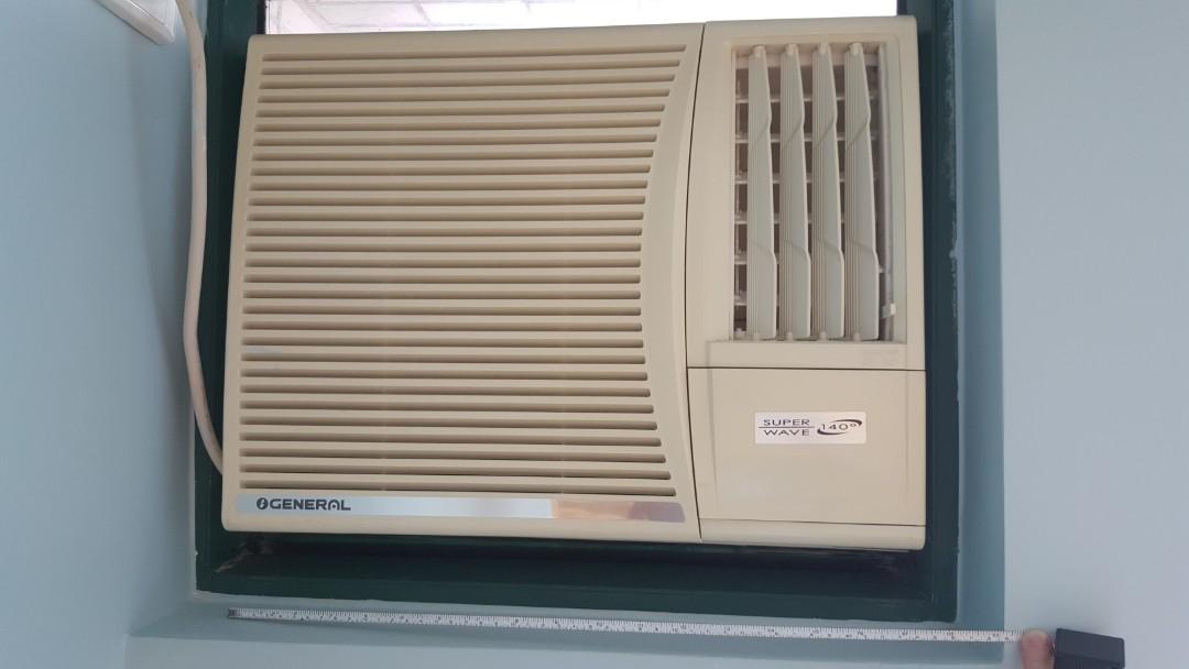 冷氣機(窗口式), 傢俬&家居, 其他 - Carousell