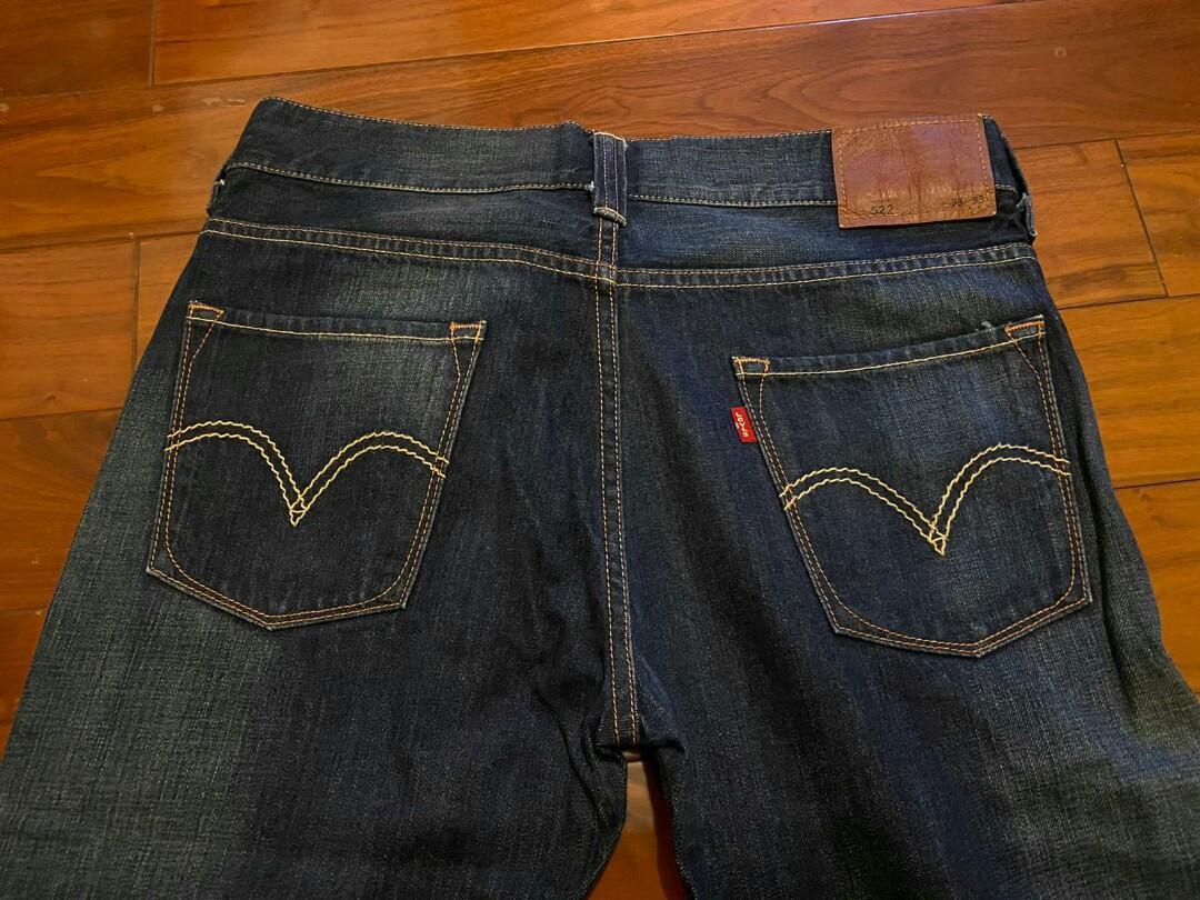 Levis 522 牛仔褲, 男裝, 男裝褲子 - Carousell