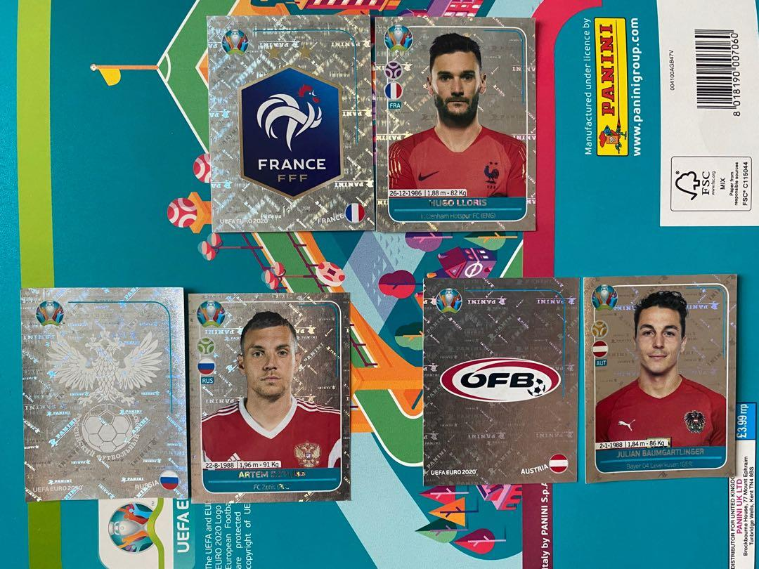 Euro 2020 preview stickers. 玩具 & 遊戲類. 其他 - Carousell