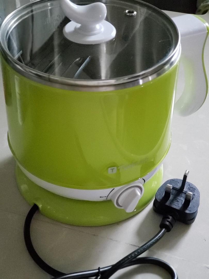 電 1-2人煱 煮公仔麵 打邊爐 蒸飯煮粥, 廚房用具 - Carousell