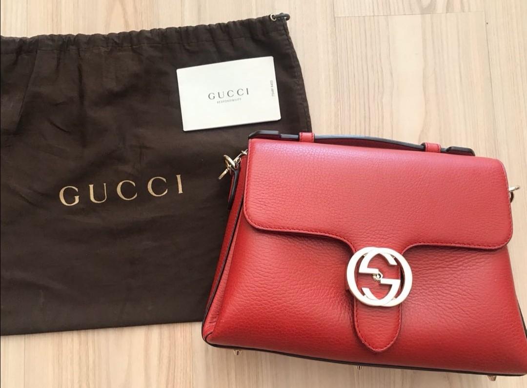 Gucci Bag(紅色), 女裝袋 & 銀包 - Carousell