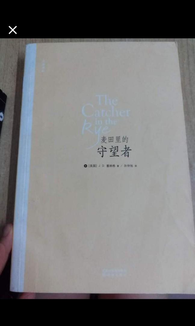麥田裡的守望者 簡體字版 中英都有, 書本 & 文具, 小說 & 故事書 - Carousell