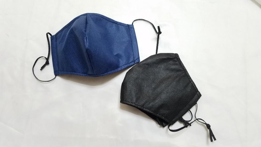 不織布立體布口罩系列, 手作&自家設計, 手作產品 & 飾物 - Carousell
