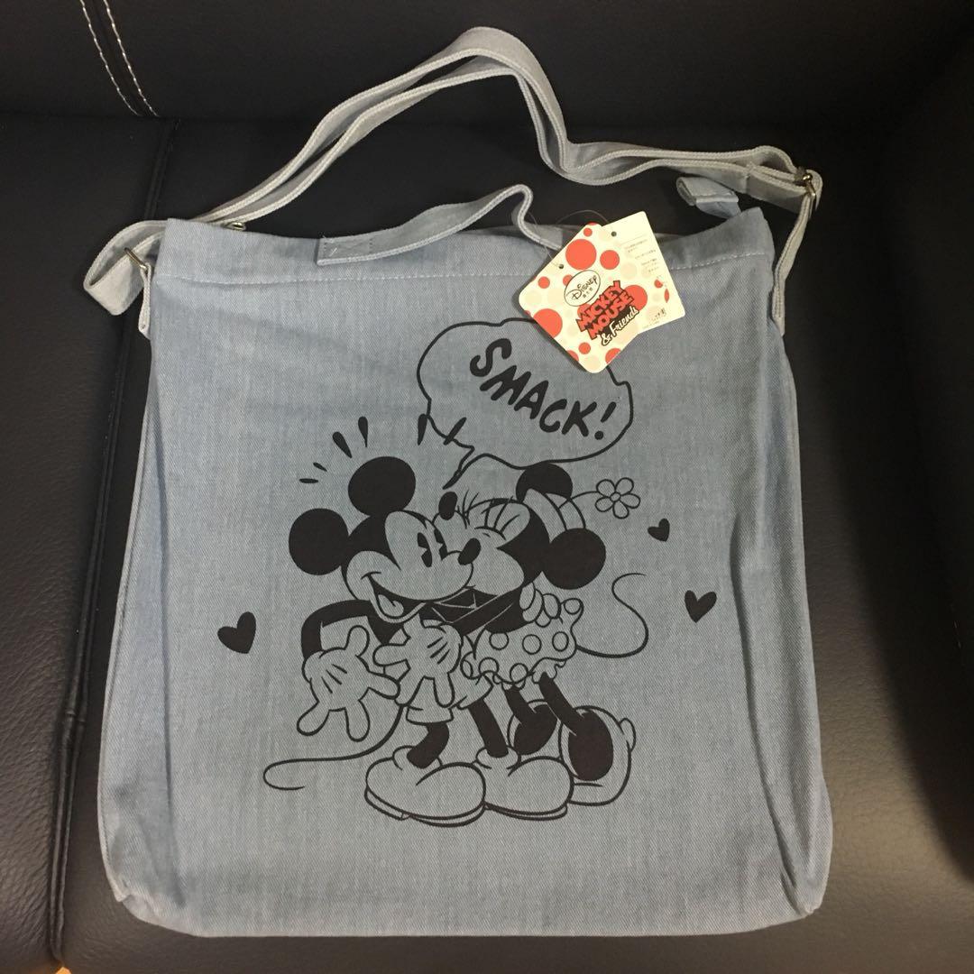 米奇老鼠斜咩布袋, 女裝, 女裝袋 & 銀包 - Carousell