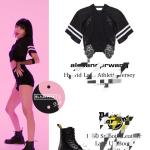 Po Blackpink Lisa How You Like That Dance Practice Full Outfit Anh Apparel Entertainment K Wave On Carousell