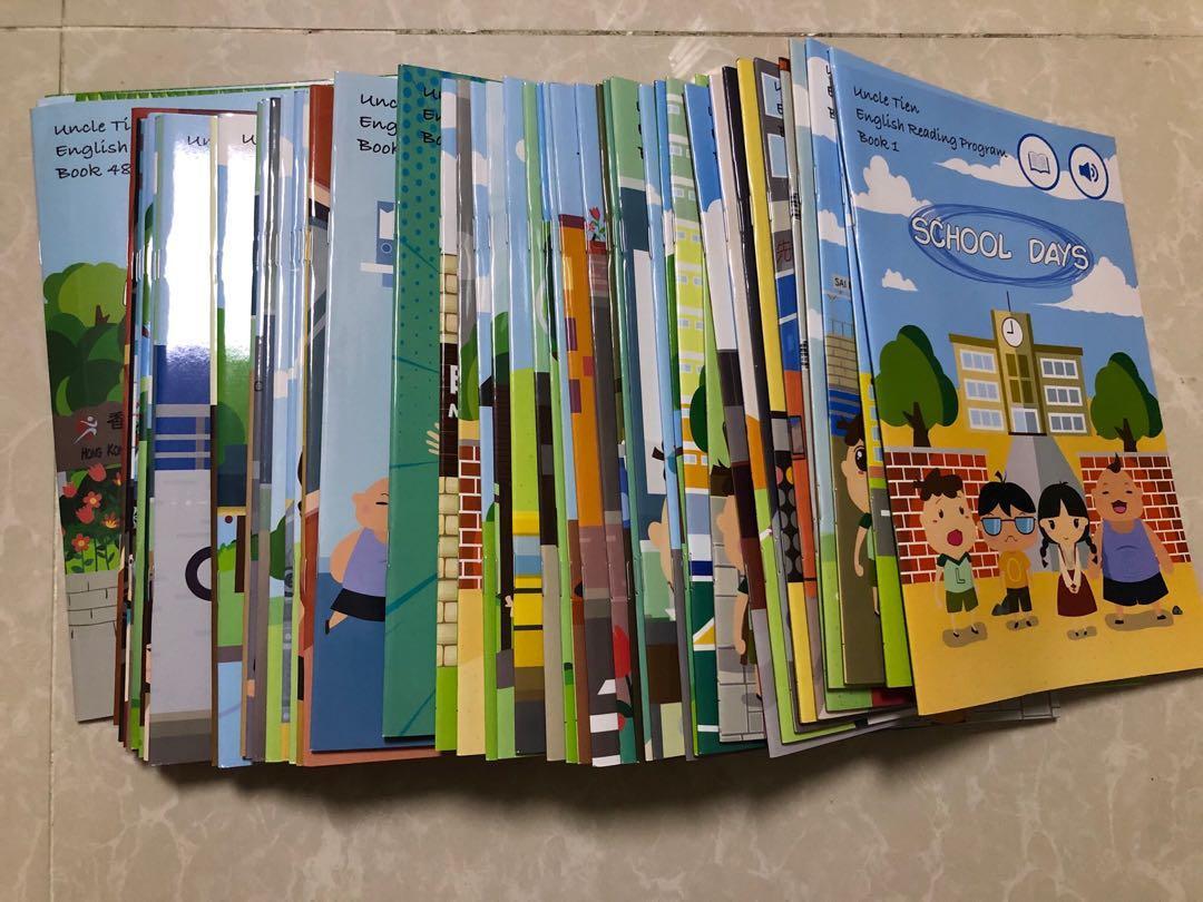 田叔叔英文閱讀繪本+點讀筆一套. 書本 & 文具. 小朋友書 - Carousell