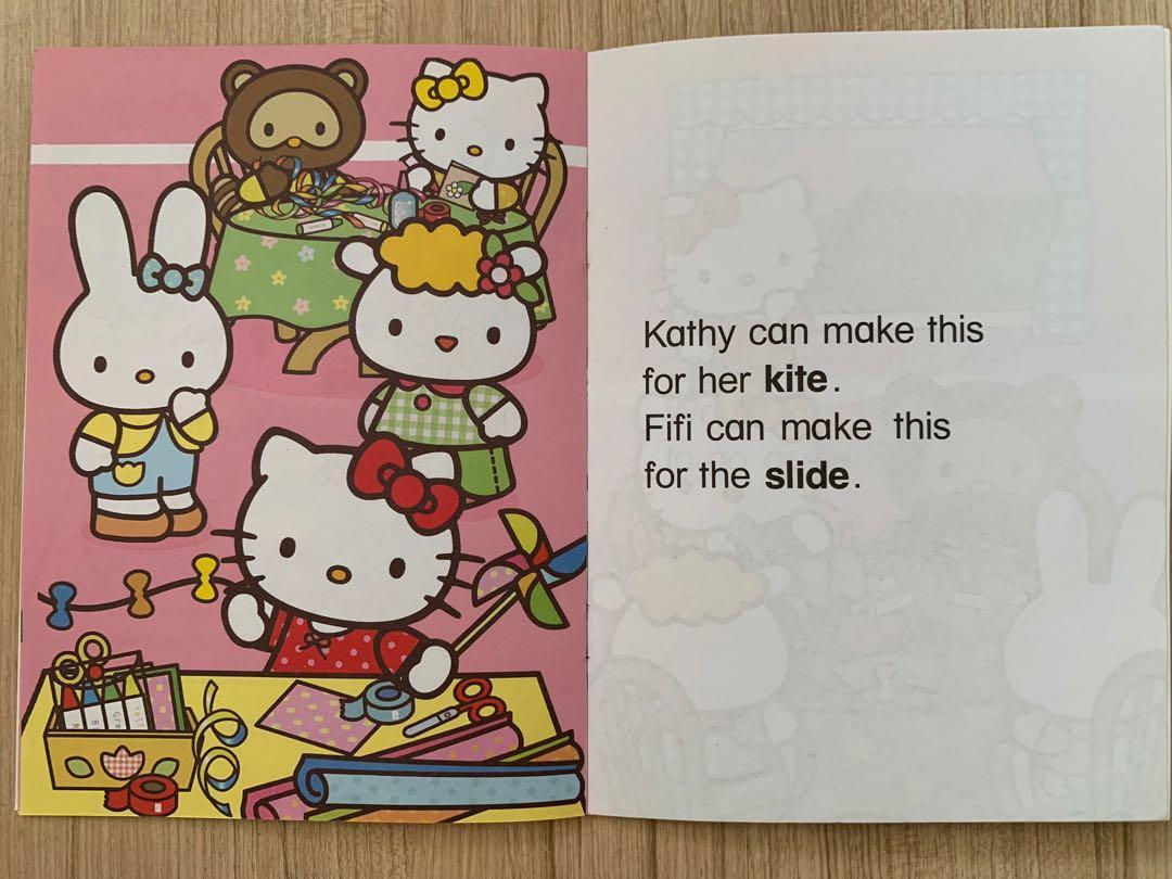 Hello Kitty Phonics Learning Books Amp