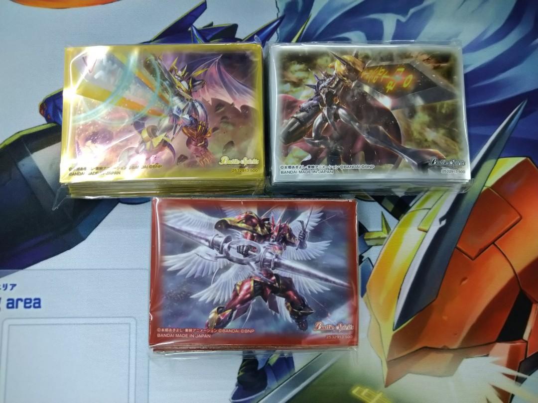 「現貨」[PB07] Battle Spirits Digimon 卡套 (SET), 玩具 & 遊戲類, Board Games & Cards - Carousell