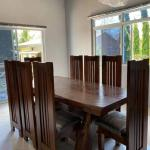 Dining Table Acacia Wood Home Furniture Furniture Fixtures Tables Chairs On Carousell