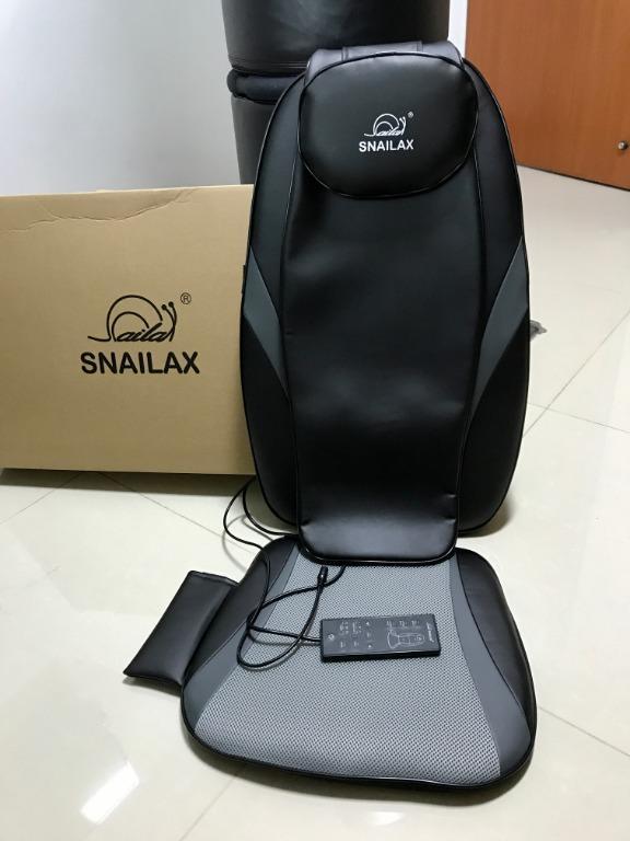 sl 256 snailax shiatsu massage cushion