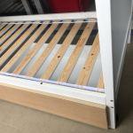 Ikea Wooden Bunk Bed Free Single Mattress Furniture Beds Mattresses On Carousell