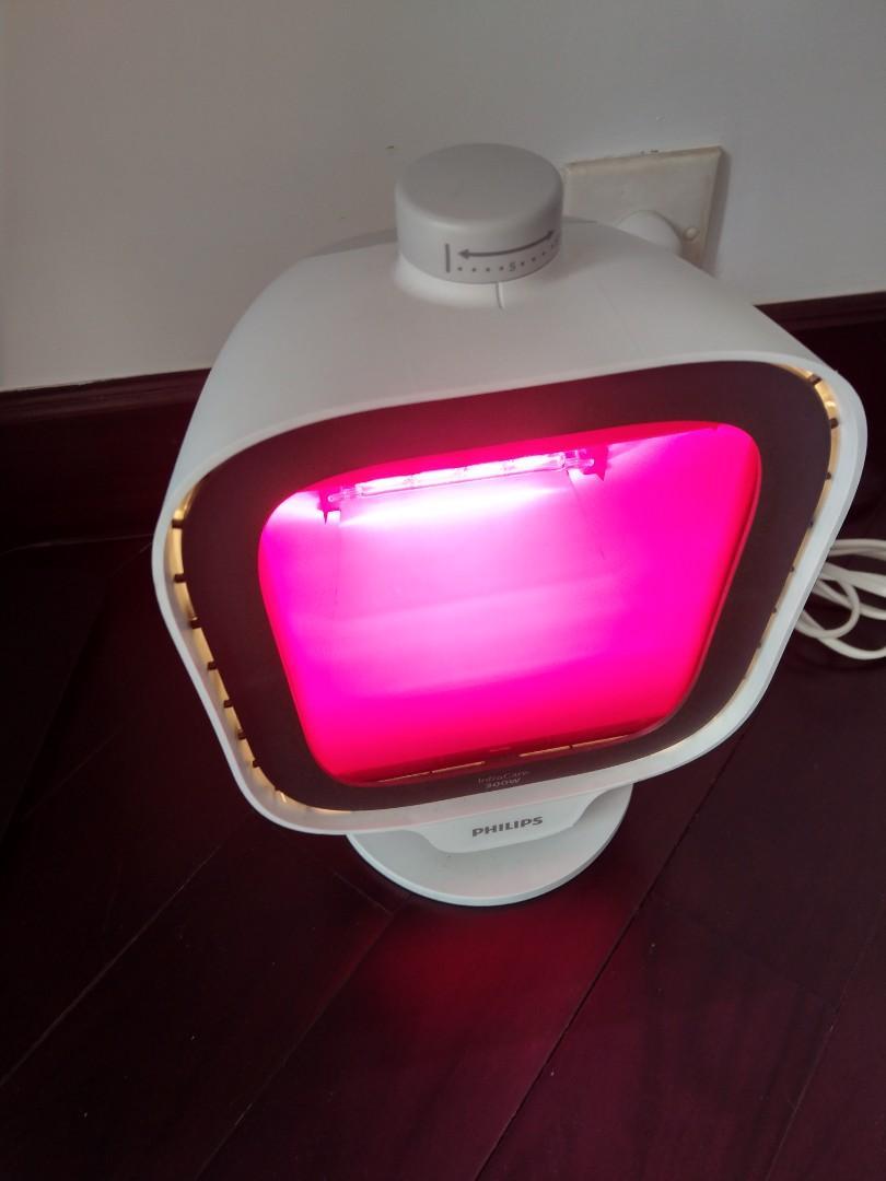 飛利浦紅外線健康燈 Philips InfraCare Infrared Lamp 300W PR3120, 廚房用具 - Carousell