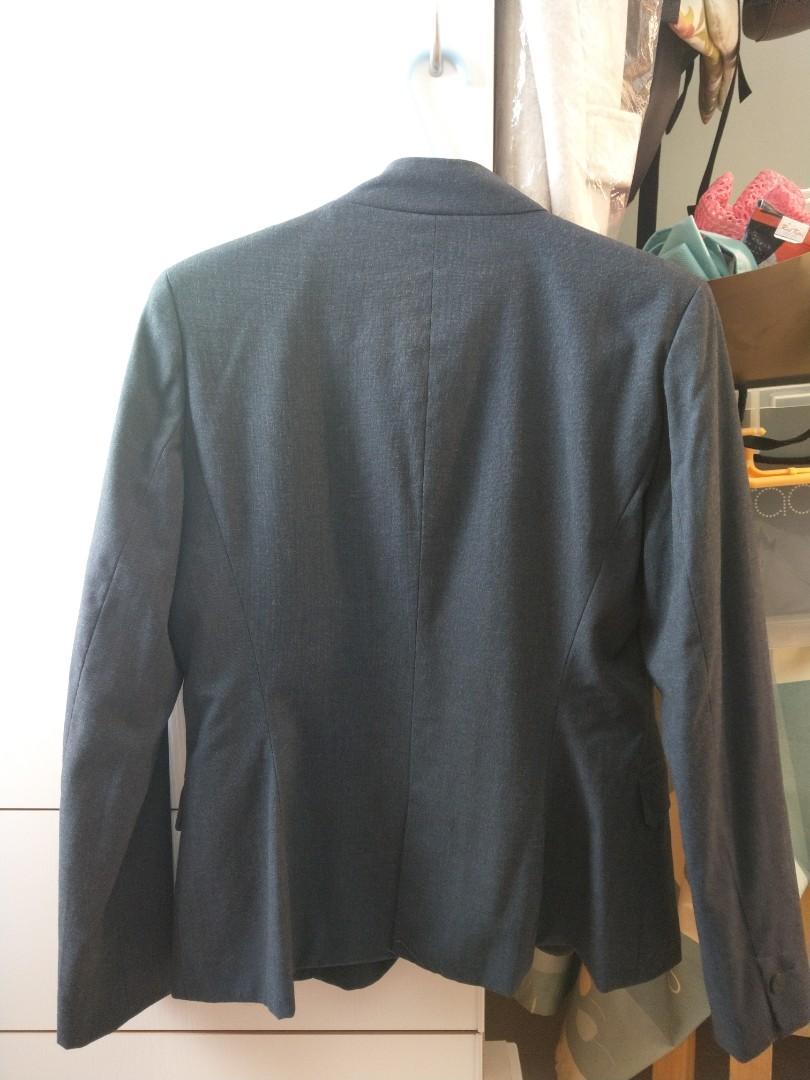 Zara 女西裝外套 navy Blazer Women H&M Cotton On G2000 Office wear,購自巴黎, 歐洲品牌 , 女裝,這些最值得入手!小資女購物清單