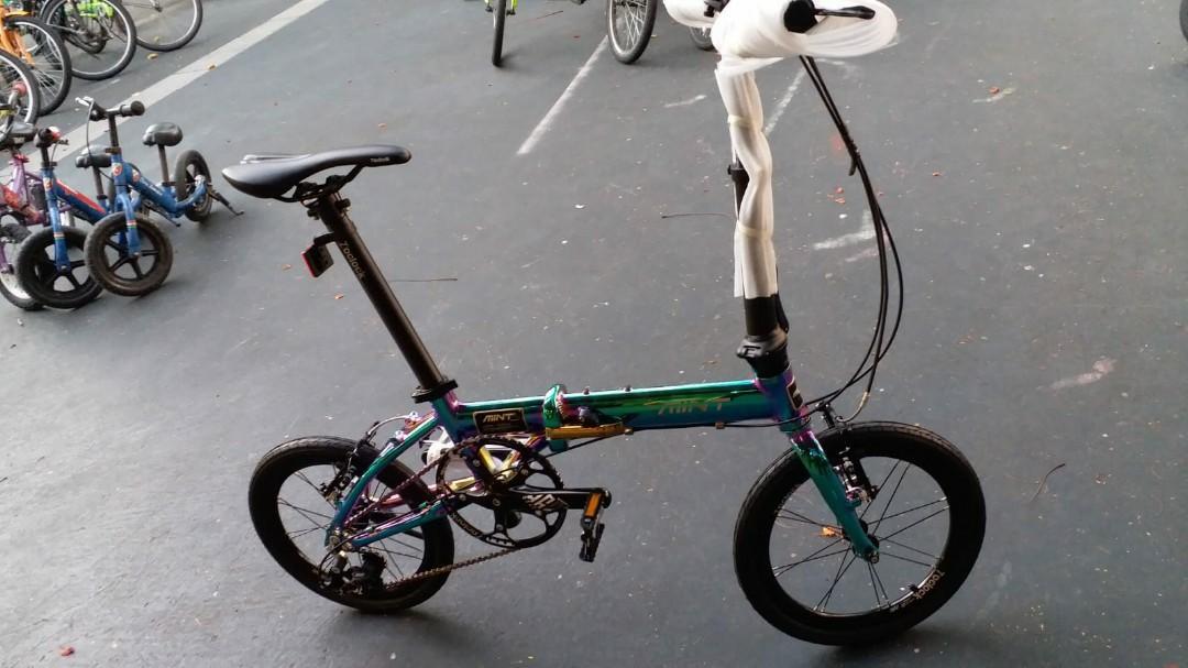 Mint t3. 16 寸3波, 運動產品, 單車 - Carousell