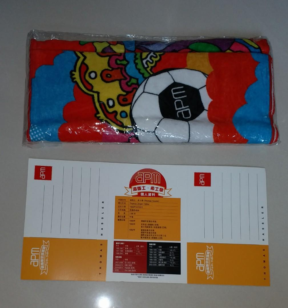 世界盃紀念品: 德國皇牌湯馬士希士拿親筆簽名明信片 及 apm x mgdankov 毛巾, 古董收藏, 其他 - Carousell