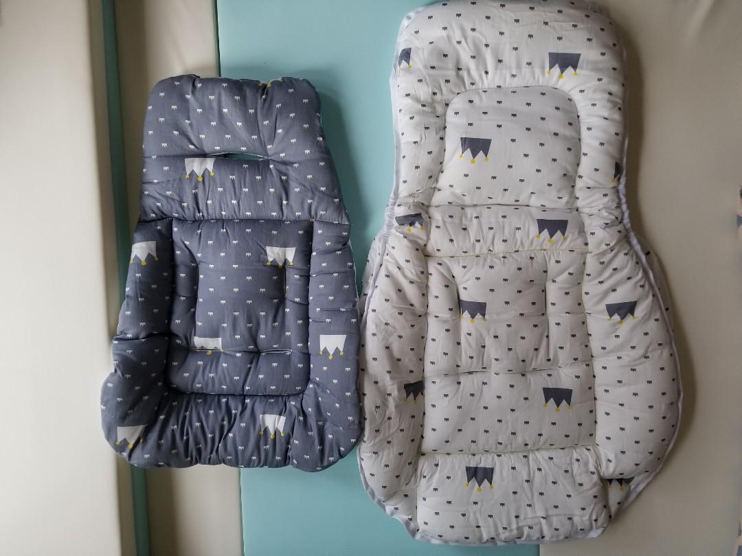 Combi High Chair 椅套 (大小墊),價格,但係咁啱有個Fd個朋友放二手, 質量好!! 睡覺定型枕: 淘寶: 1 以免 bb 翻訓: U型枕: 淘寶: 1 方便媽媽餵奶之用, BB車 - Carousell