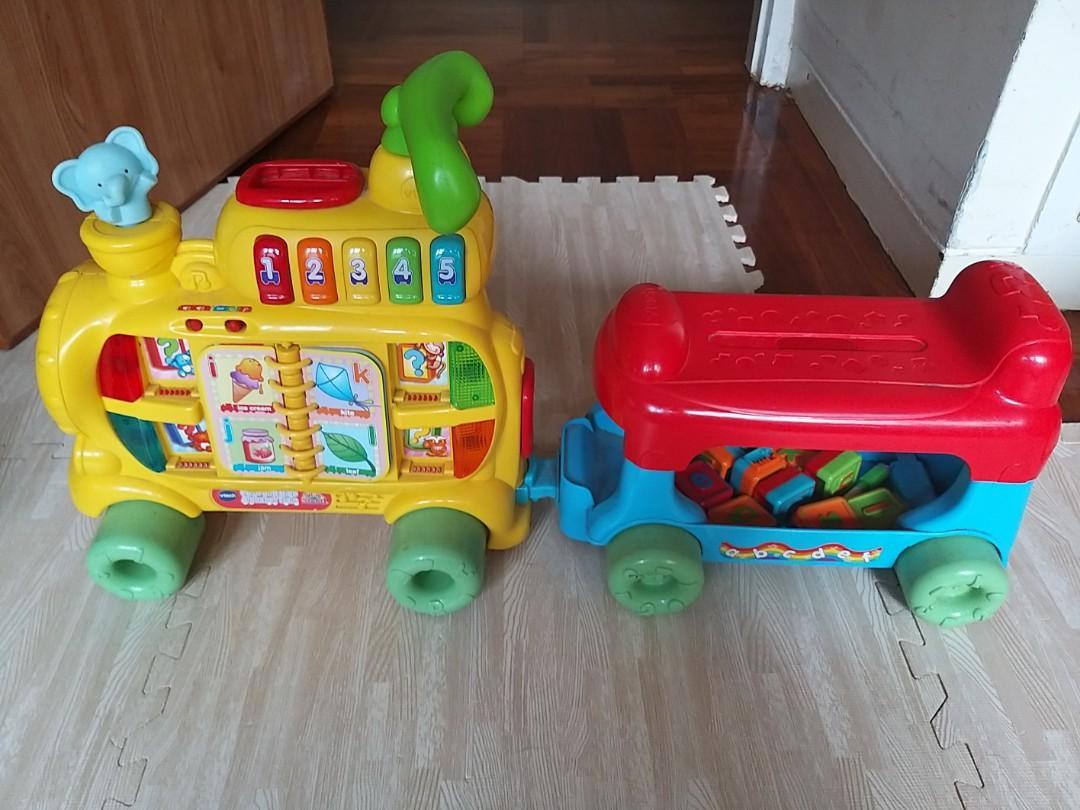 Vtech 學習火車頭, 玩具 & 遊戲類, 玩具 - Carousell