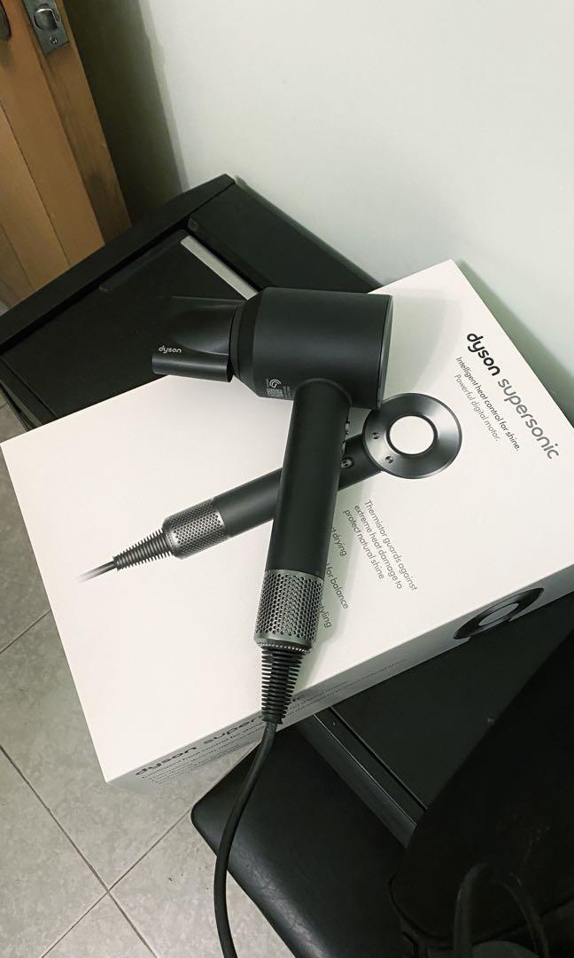Dyson HD01 Supersonic 風筒 (黑鋼色), 美容&化妝品, 頭髮護理, 沐浴 & 身體護理 - Carousell