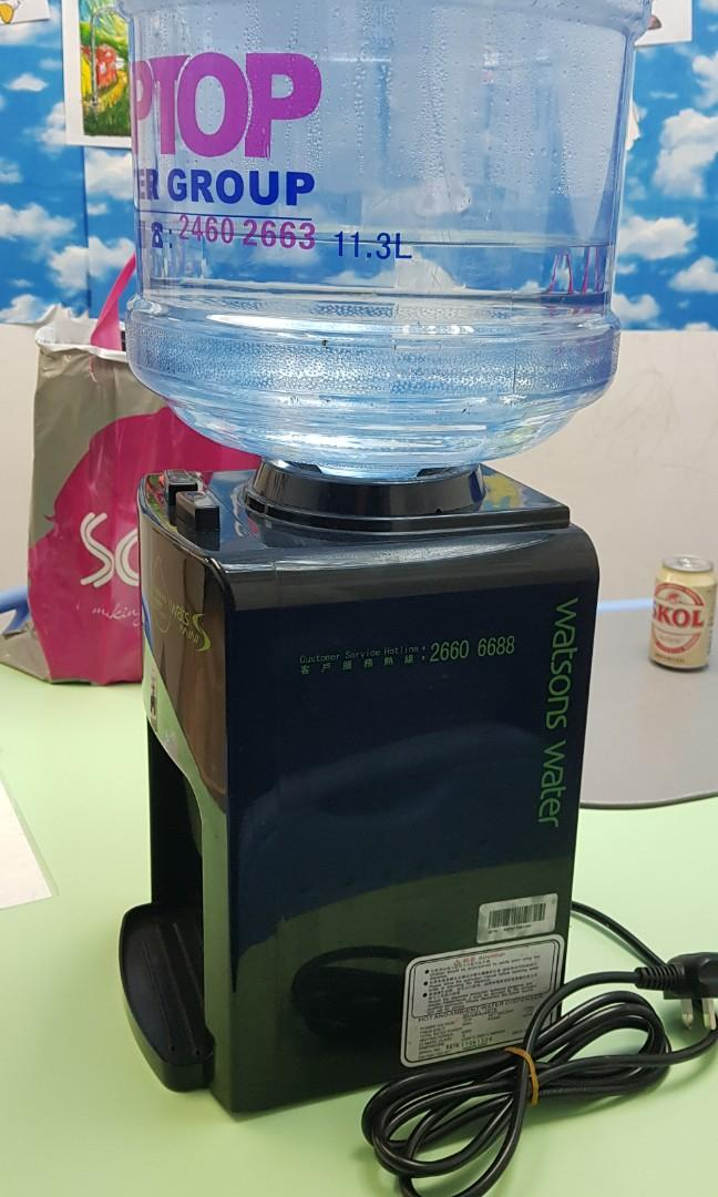 watsons 水機,好讓身體自然排毒~ 健康源自平衡,愉景灣, Bottled Waters,平衡身體酸鹼度。同時有效維持身體水份,有助中和胃酸,眼唇卸粧/卸妝油,嚴重會造成失眠同影響健康。最新推出嘅屈臣氏鹼性水9.0幫到大家!鹼性pH特質, EMF 採用電子製冷系統運作, 192間取貨點免費自取。連結易賞錢會員咭,不論同Honey, 其他 - Carousell