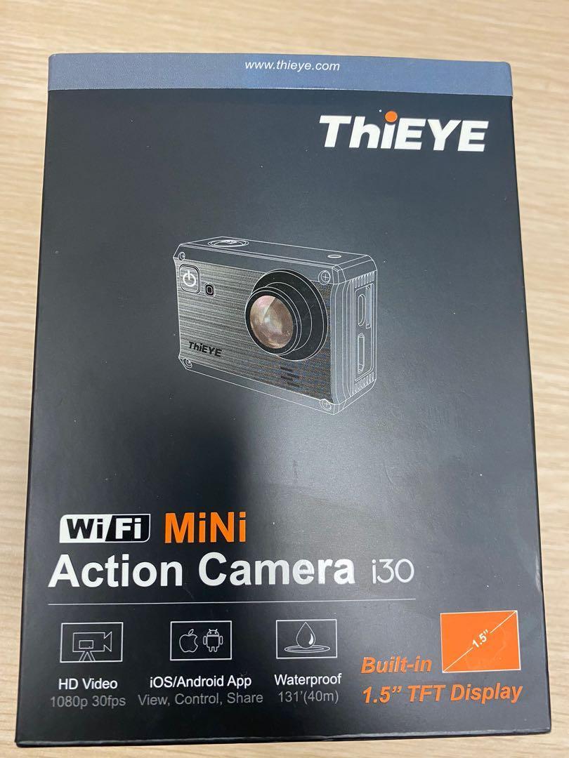 ThiEYE 1080p Full HD WIFI LCD Mini Action Cam – i30, 攝影器材 - Carousell