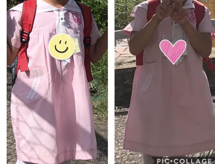 屯門青山聖彼得堂幼稚園,女童校服K2 兩套,送書包, 兒童&孕婦用品, 女小朋友時裝 - Carousell