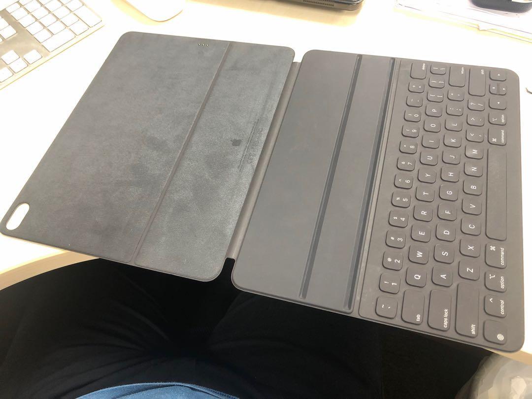 """12.9"""" iPad Pro 2018 WiFi 512GB 連Smart Keyboard Folio, 電子產品, 電腦 & 平板電腦 - Carousell"""