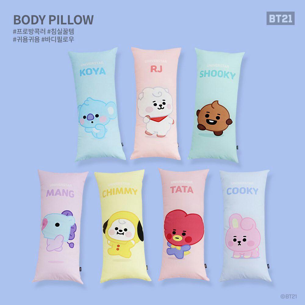 bt21 baby body pillow preorder nara home deco