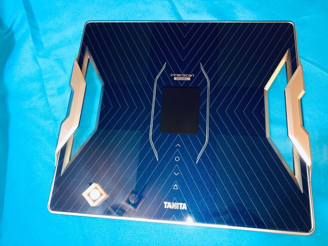 RD-912 日本製造 Tanita 升級版 RD-953 innerscan dual 脂肪磅 體脂磅 藍牙連手機, 運動產品, 其他運動產品 - Carousell