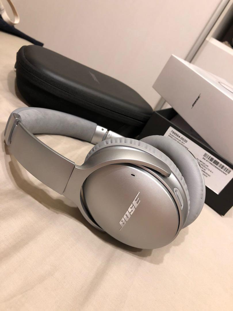 (誠可議)Bose QuietComfort 35 II 無線藍芽降噪耳罩式耳機 QC35 II 抗噪 降噪 二手(誠可議), 電腦3C, 其他電子產品在 ...