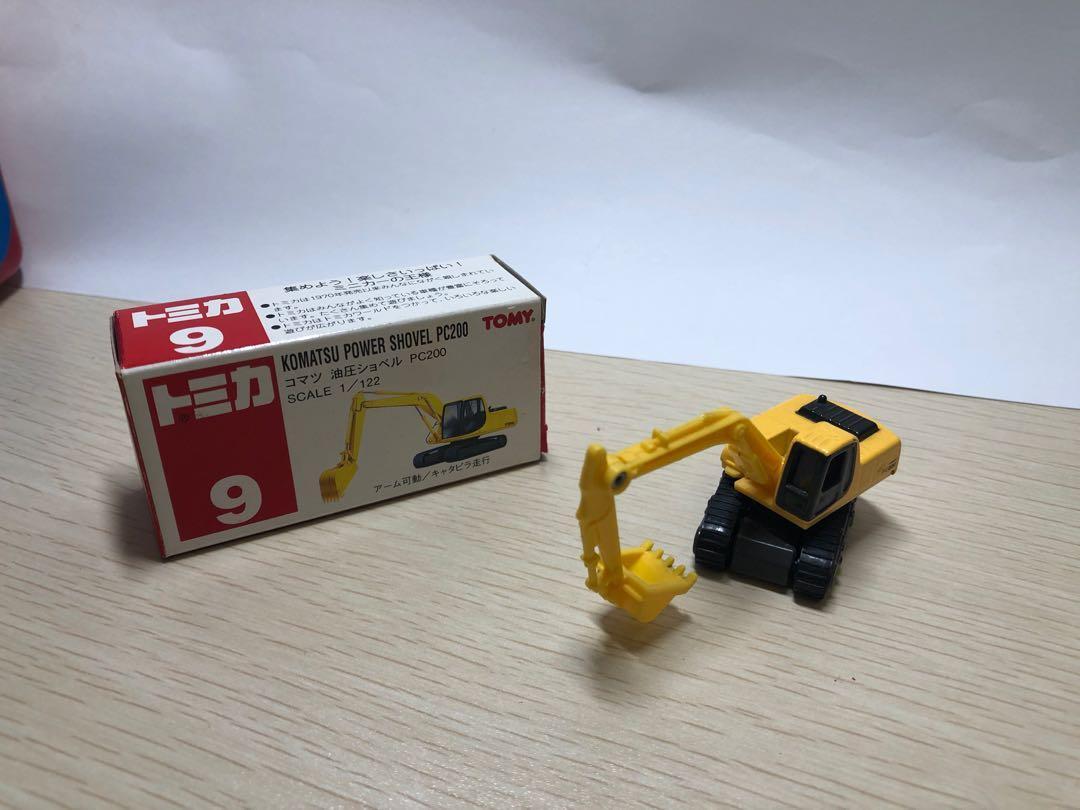 Tomica 66 , 22 , 9 - 吊車,消防車,鏟泥車, 玩具 & 遊戲類, 玩具 - Carousell