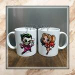 Couple Mugs Design Craft Artwork On Carousell