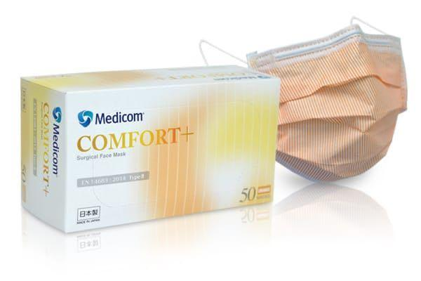 Medicom Comfort Mask 日本製橙色三文魚口罩.外盒完美??. 美容&化妝品. 指甲美容. 香水 & 其他 - Carousell