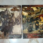 Privateer Press Iron Kingdoms Full Metal Fantasy Volume 1 Character Guide Volume 2 World Guide Books Stationery Fiction On Carousell