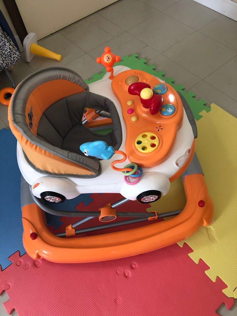 學行車, 兒童&孕婦用品, BB車 - Carousell