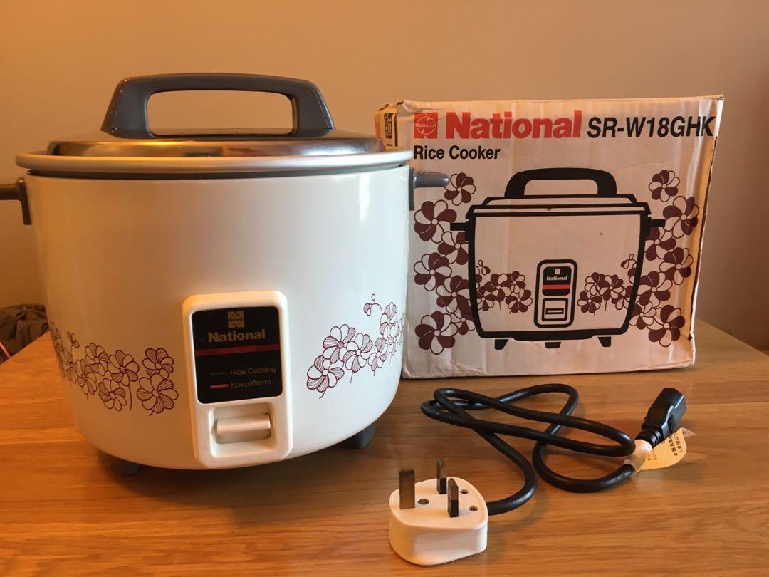 National 樂聲牌懷舊電飯煲, 廚房用具 - Carousell