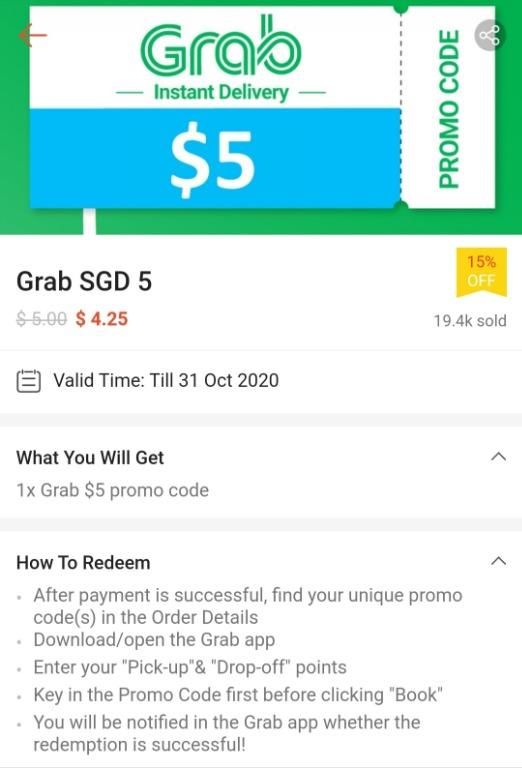 Grab Car Promo : promo, Promo, Code,, Entertainment,, Cards, Vouchers, Carousell