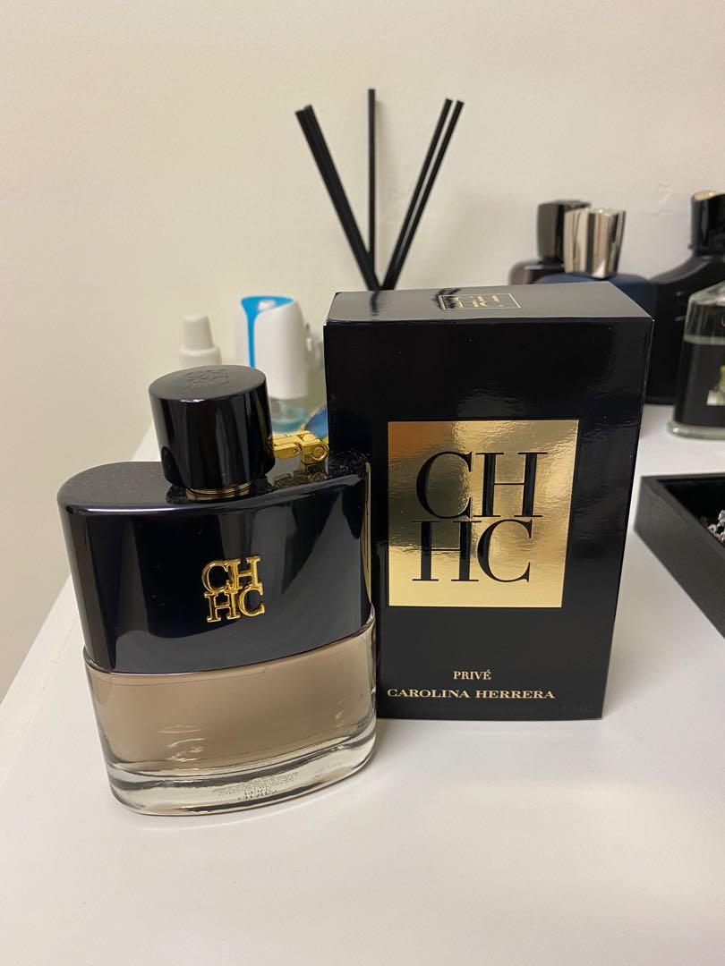 Carolina Herrera CH Men Prive 100ml, 美妝保養, 香水在旋轉拍賣