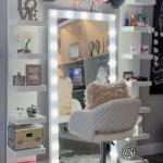 Lack Vertical Shelves And Whole Body Vanity Mirror Home Furniture Furniture Fixtures Shelves Drawers On Carousell