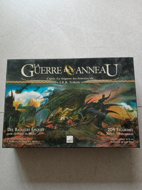 La Guerre De L Anneau : guerre, anneau, Guerre, L'Anneau, Ring), Board, FRENCH, Language,, Games,, Games, Cards, Carousell