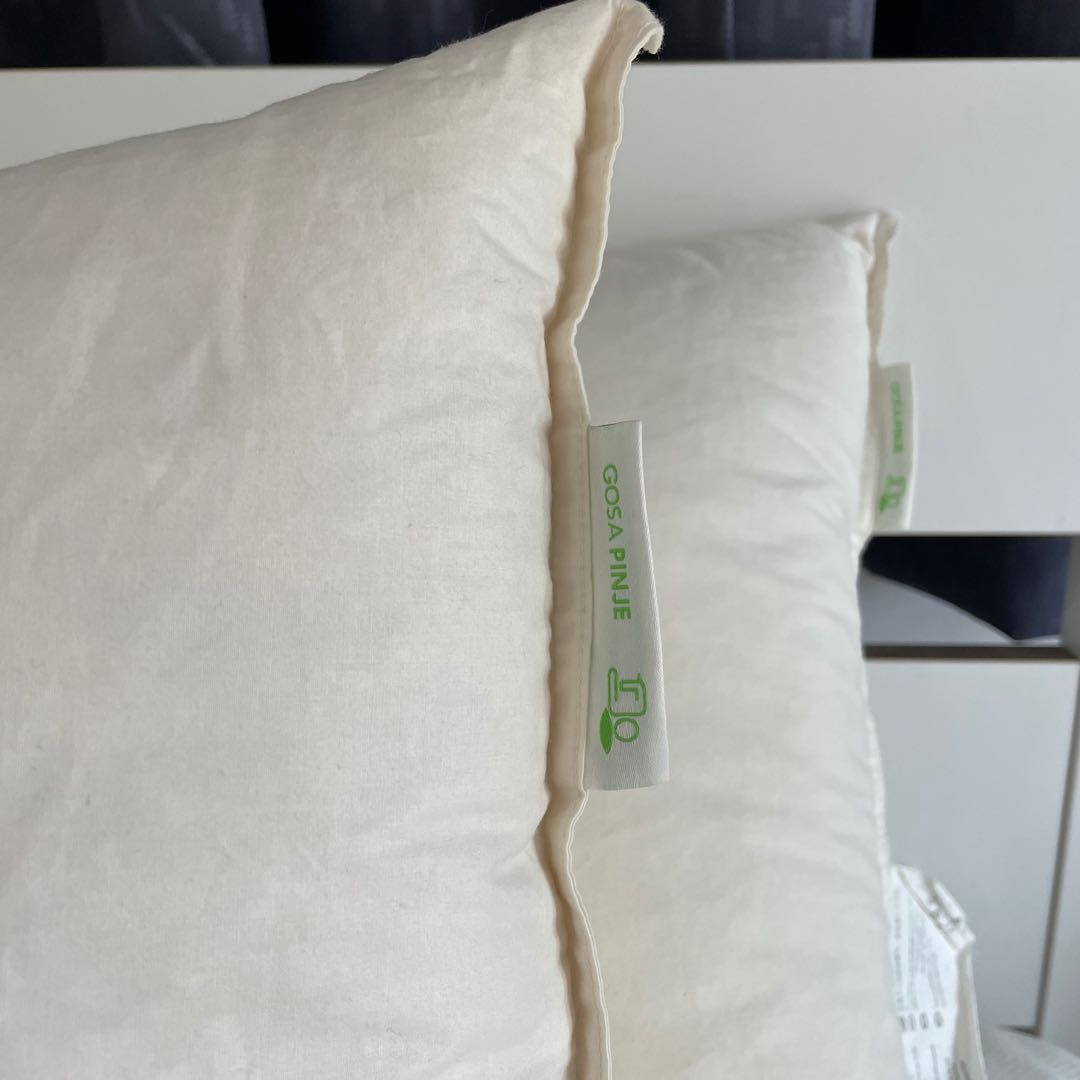 Ikea Gosa Pinje Ikea Feather Down Pillow, Home & Furniture, Others On Carousell