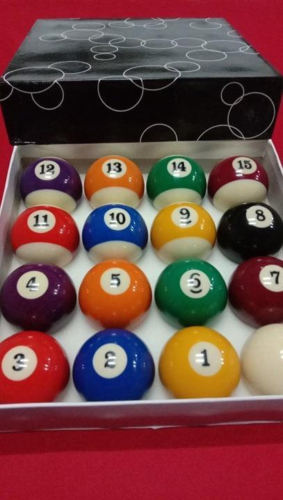 Bola Bilyar : bilyar, STANDARD, BILYARAN,, Sports, Equipment,, Games,, Billiards, Bowling, Carousell