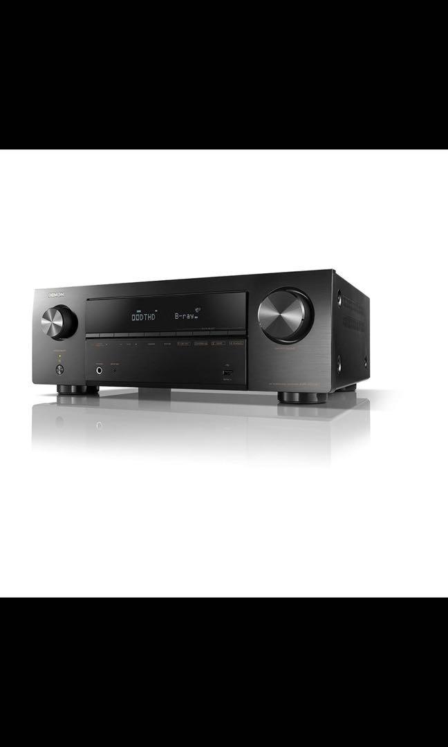 Denon Avr-x550bt : denon, avr-x550bt, Denon, AVR-X550BT,, Electronics,, Audio, Carousell