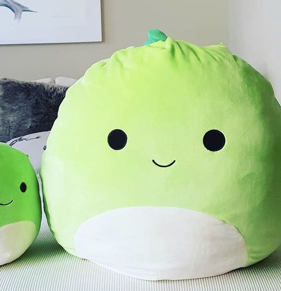 huge squishy green dino bunny kitty soft toy big bear baby babies infant pillow plush plushy girl plushie brand new stuffed toy for christmas present