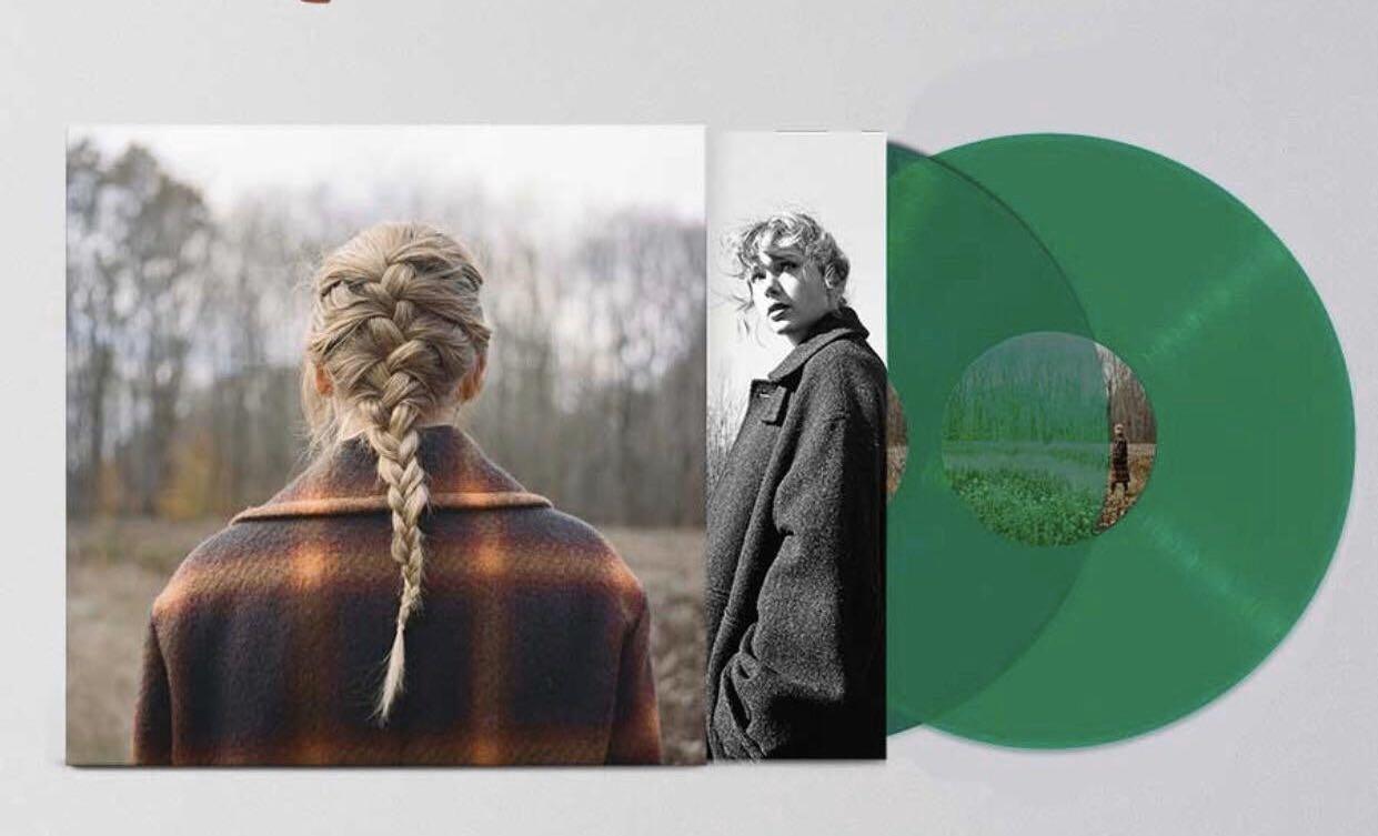 'evermore' album vinyl