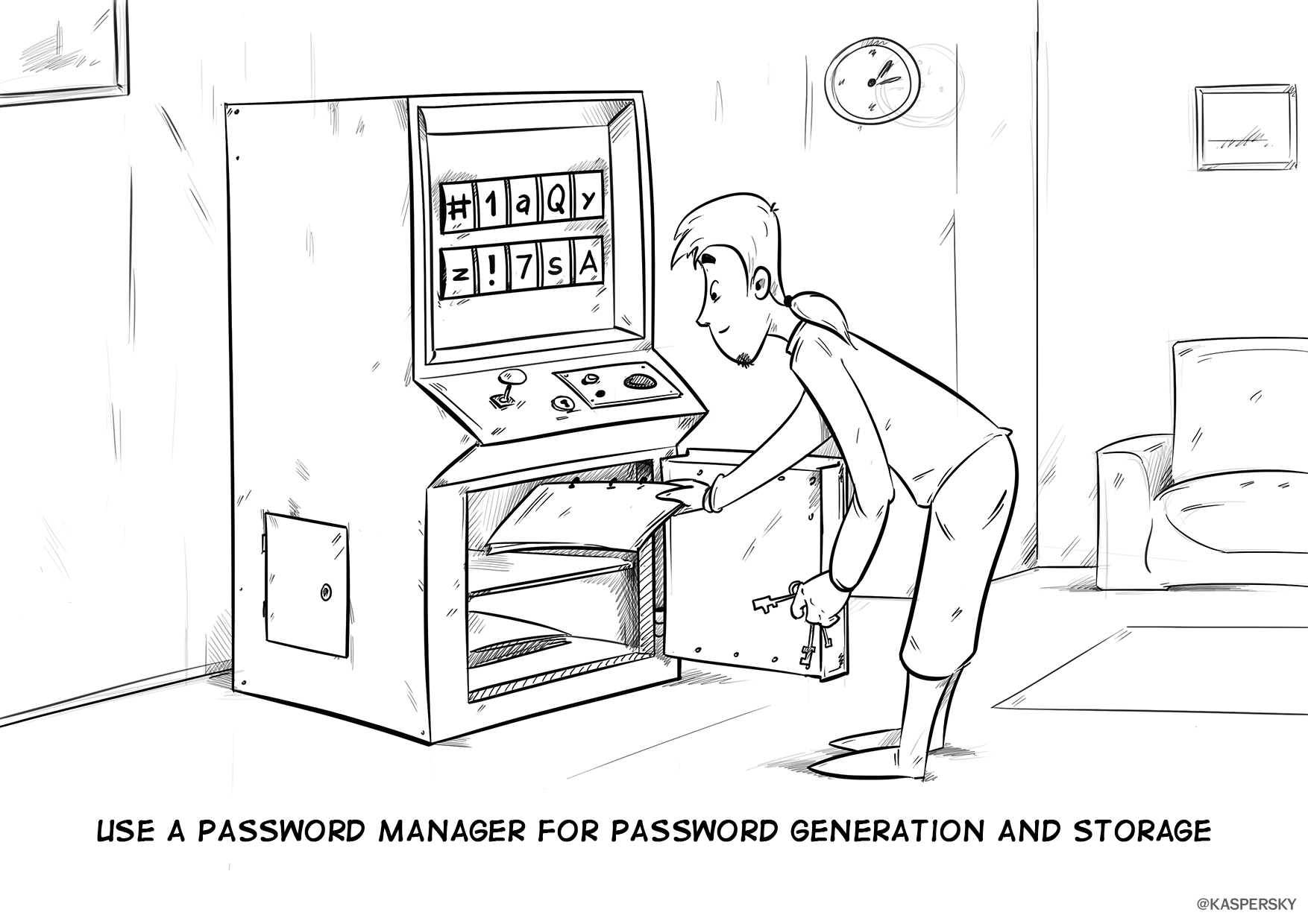 The Сyberworld Survival Guide: Password manager