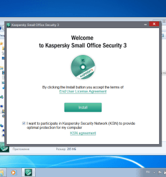 kaspersky small office security is designed for small companies that may not have full time professional system administrators in such cases employees are  [ 1024 x 768 Pixel ]
