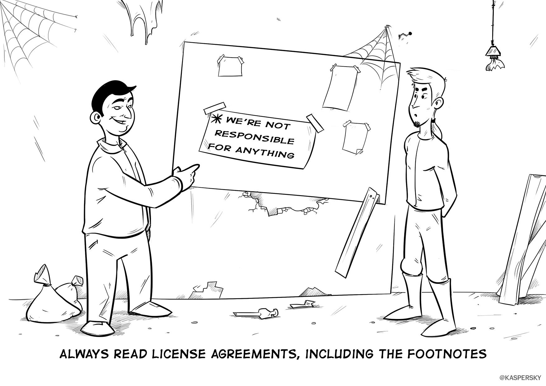 The Сyberworld Survival Guide: License agreement