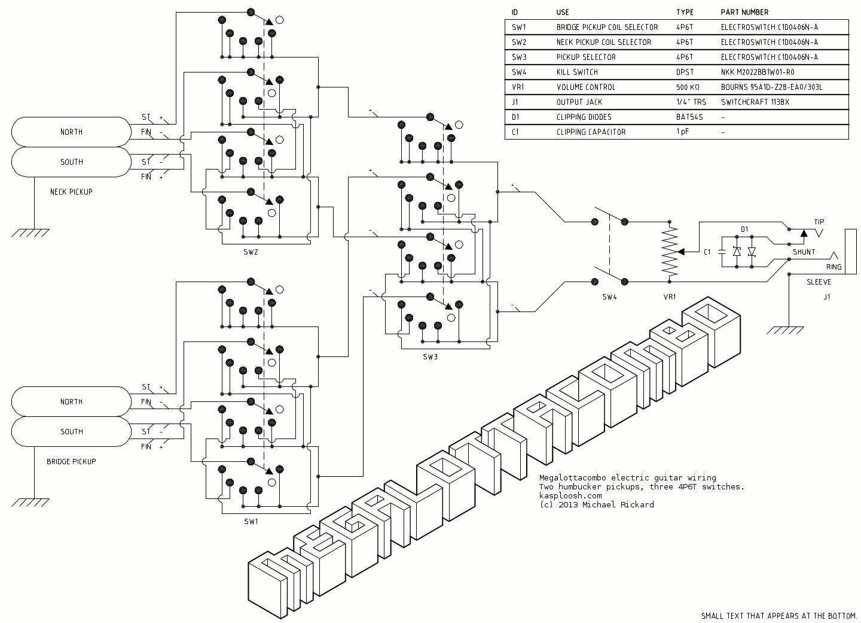 Megalottacombo Final Diagram