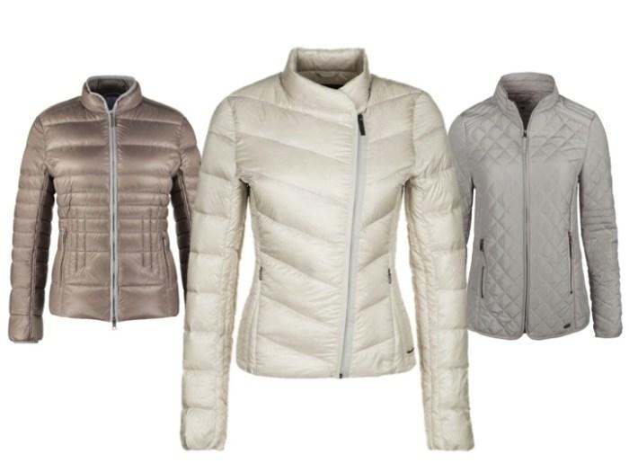 Sommardunjackor och quiltade jackor är smarta val våren 2015.