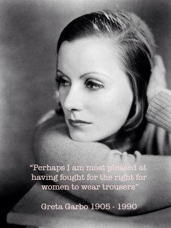Dagens citat av Greta Garbo.